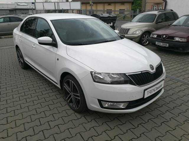 Škoda Rapid sedan 63kW benzin 201308